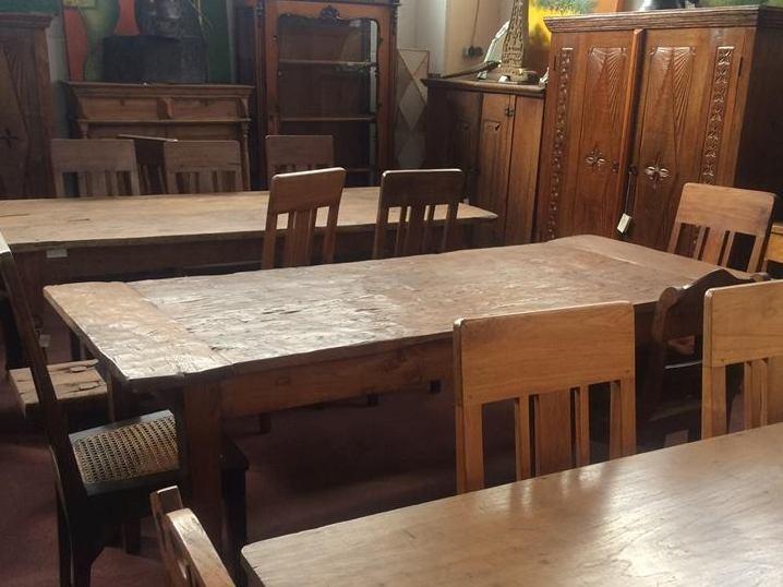 Indonesische Möbel aus Recycling Teakholz