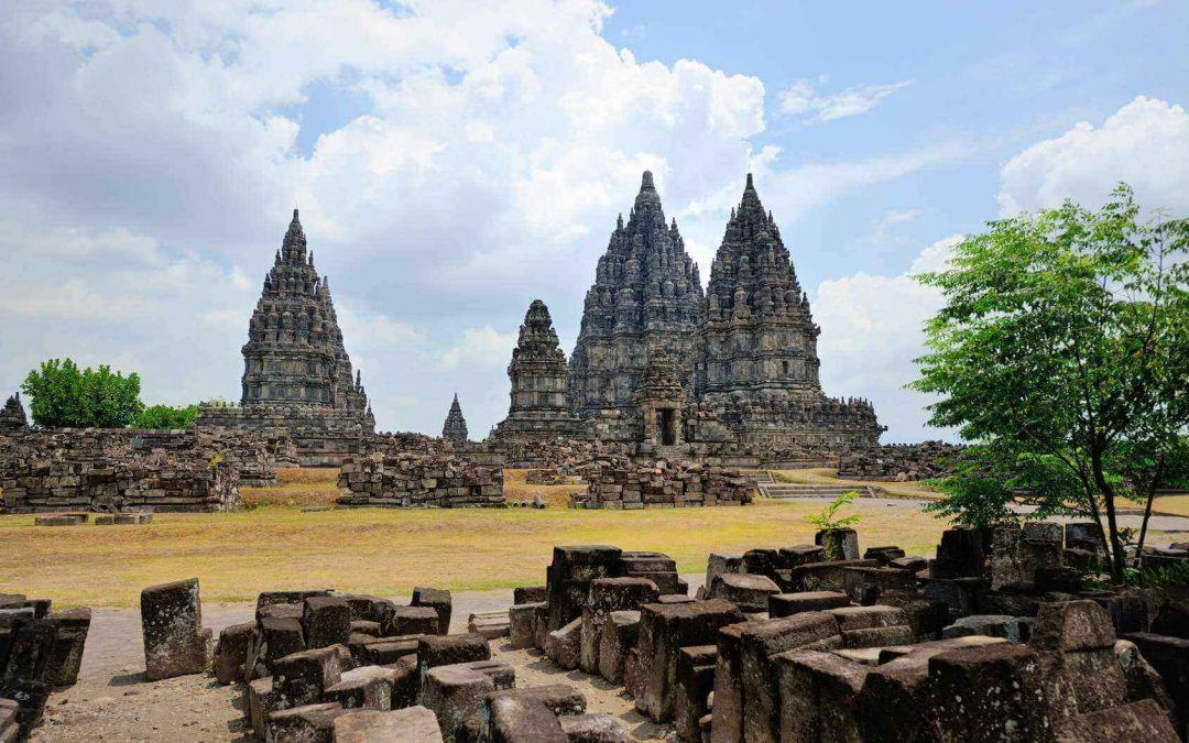 Der Tempel Prambanan – riesiges Puzzle aus Stein
