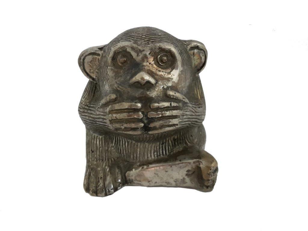 Affe, der nichts Böses sprechen will