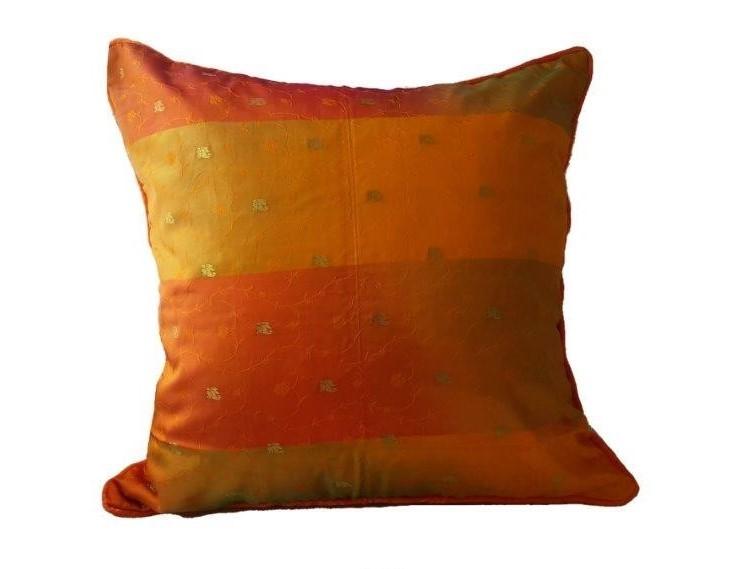 Kissenhülle orange