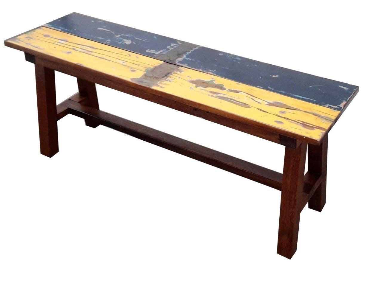 vintage garten planken-bank