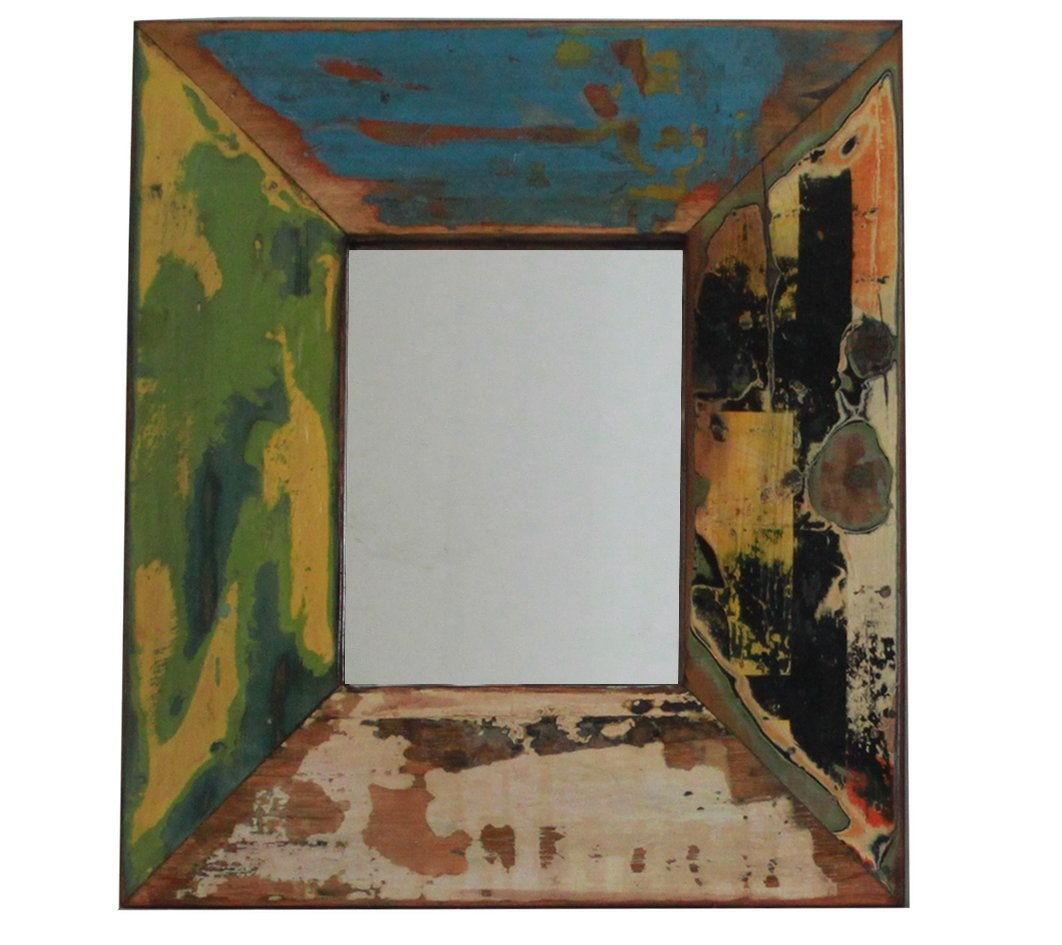 Vintage-Spiegel, Rahmen 10 cm breit