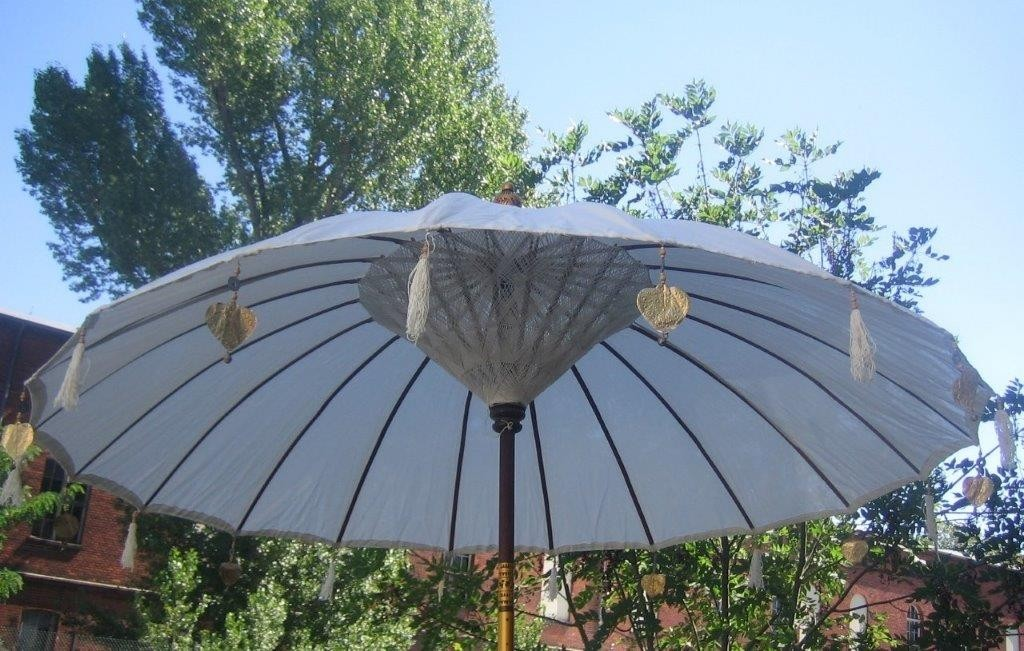 NEU grosser  Sonnenschirm ca. 250 cm Durchmesser