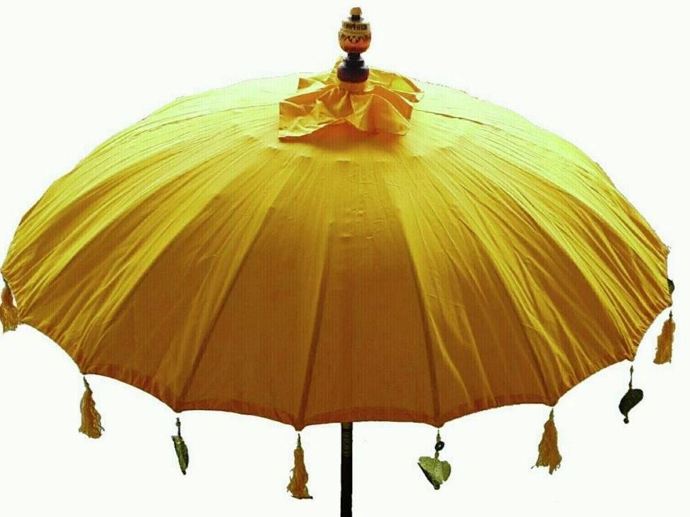 Sonnenschirm ca. 180 cm, Gelb