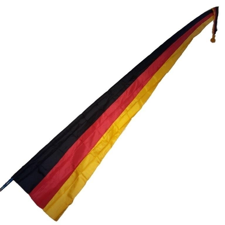 """Bali - Fahne """"Deutschland"""", mit Teleskopstange 500 cm"""