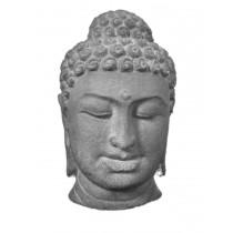 Buddha Kopf 30 cm Schwarz