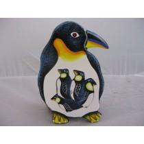 Puzzle Pinguin, handbemalt