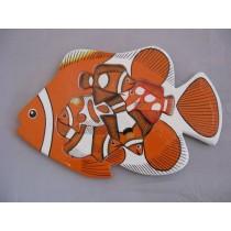 Puzzle Clownfisch, handbemalt
