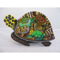 Puzzle Schildkröte, handbemalt