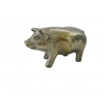 Glücksschwein, stehend