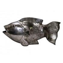 Fisch, mit offenem Maul