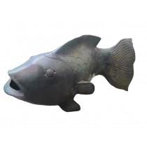 Fisch, grüne Patina