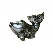 Fisch Schwanzflosse oben