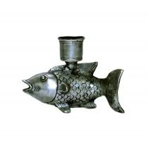 Fisch als Kerzenhalter