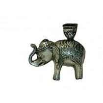 Elefant mit Kerzenhalter