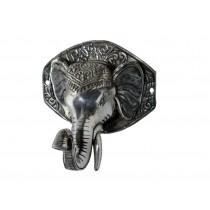 Kleiderhaken – authentischer Elefantenkopf