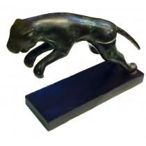springender Jaguar