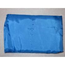 Fahne hellblau,  250/330 cm