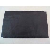 Fahne schwarz, 600/750 cm