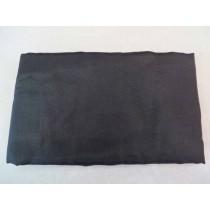 Fahne schwarz, 440/540 cm