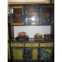 Küchenschrank, 210 cm hoch