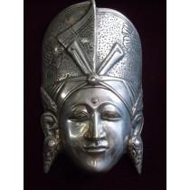 Balinesische Königsmaske als Relief