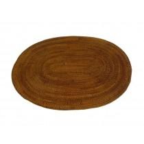 Platzsets / Platzmatte / Tischsets aus Naturfasern, oval