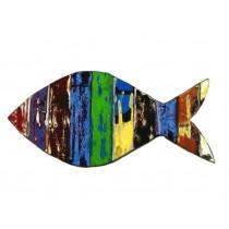 Fisch als Wanddekoration