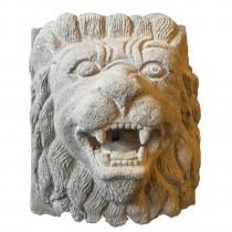 Löwenkopf als Wasserspeier