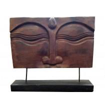 Buddhas Augen, Relief