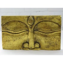 Relief Buddha, gold
