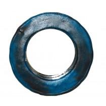 Ölfass - Spiegel blau