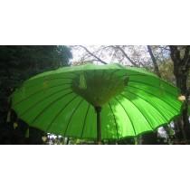 NEU, grosser hellgrüner Sonnenschirm, ca. 250 cm Durchmesser