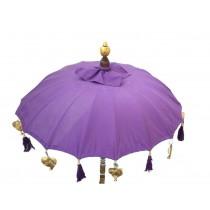 Tempelschirm dm ca. 90 cm, violett