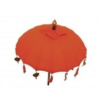 Tempelschirm ca. 90 cm, Orange