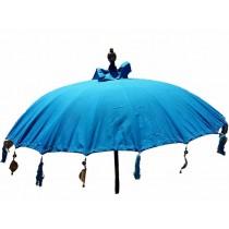 Sonnenschirm ca. 180 cm, hellblau