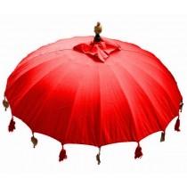 Sonnenschirm ca. 180 cm, rot