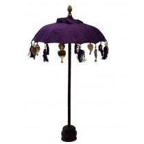 Tischschirm, ca. 50 cm, violett