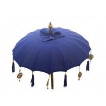 Tempelschirm ca. 90 cm, Blau