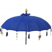 Sonnenschirm blau, dm ca. 180 cm