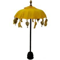 Tischschirm, ca. 50 cm, gelb