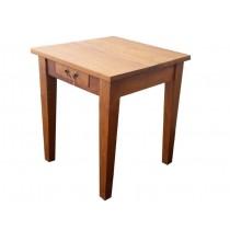 Tisch Teak,  mit einer Schublade