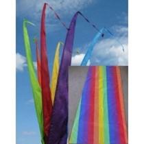Fahne, Regenbogen einschl. Teleskopstange, 500 cm