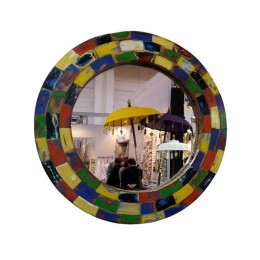 Vintage - Spiegel, rund