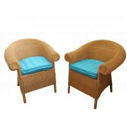 2 er Set Rattan - Sessel Hawaii