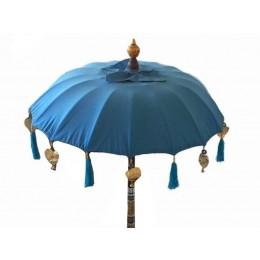 Tempelschirm dm ca. 90 cm, hellblau
