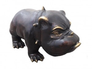 Bulldogge, groß